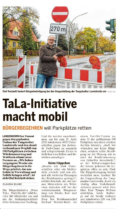 TaLa-Initiative macht mobil